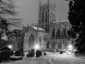Night at Malvern Priory by Jan Harris
