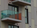 Colourful balconies by Liz Perrins