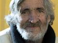 Old man, Malaga by Liz Perrins