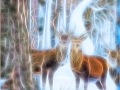 Magical Stags by Jenny Webster