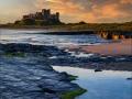Bamburgh-Castle-Sunset