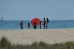 On-the-beach-in-Sitges